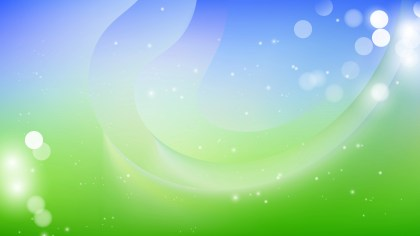 Abstract Blue and Green Background Image