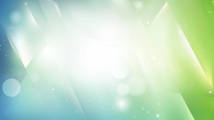 Abstract Blue and Green Background Illustration