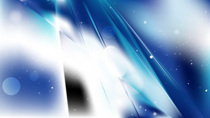 Blue and White Abstract Background Design
