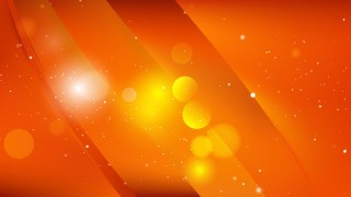 Abstract Bright Orange Background Image