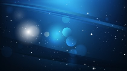 Cool Blue Abstract Background Illustration