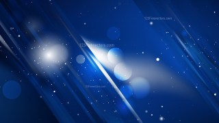 Cool Blue Abstract Background Graphic