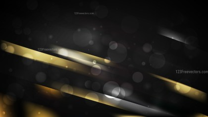 Cool Gold Abstract Background Illustration