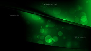 Abstract Cool Green Background Illustration