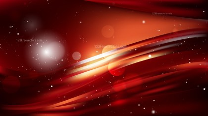 Cool Orange Abstract Background Image
