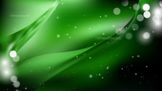 Abstract Green and Black Background Image