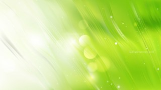 Abstract Green and White Background Illustration