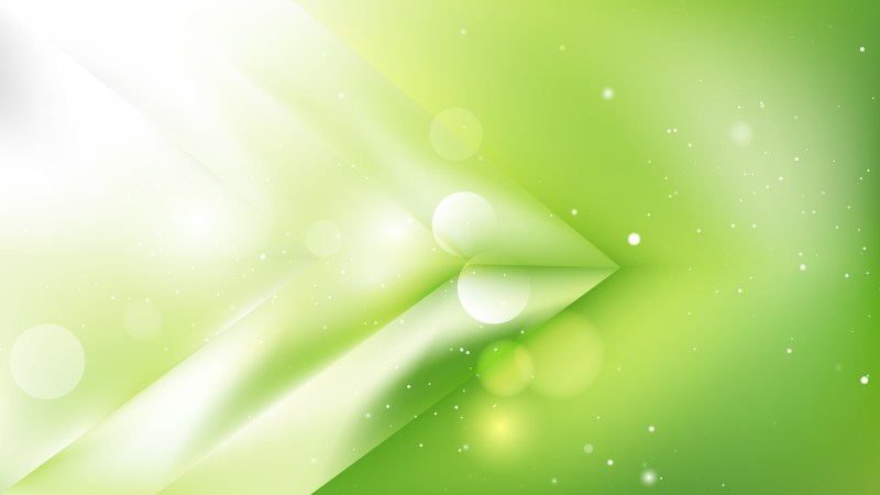 Abstract Green and White Background Vector Art
