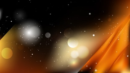 Orange and Black Abstract Background Design