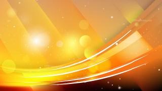 Orange and Black Abstract Background Illustration