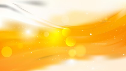 Abstract Orange and White Background Illustration