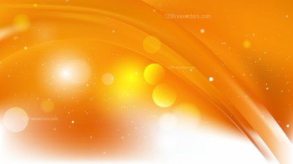 Abstract Orange and White Background Vector Art