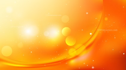 Orange and Yellow Abstract Background Vector