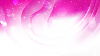 Abstract Pink and White Background Graphic