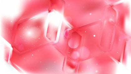 Pink and White Abstract Background Vector
