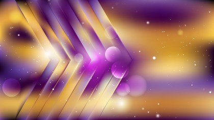 Abstract Purple and Gold Background Vector Art