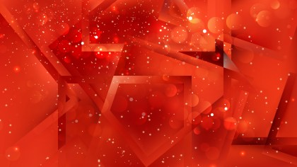 Abstract Red Background Image