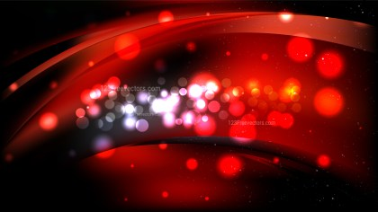 Red and Black Abstract Background Illustration