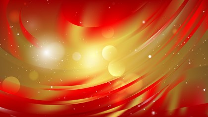 Abstract Red and Gold Background Illustration