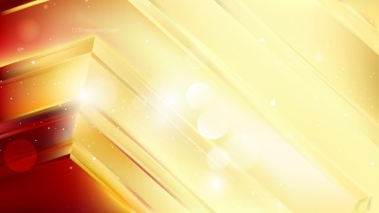 Abstract Red and Gold Background Graphic Design
