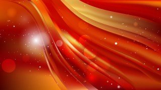 Red and Orange Abstract Background Illustration