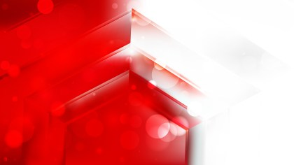 Abstract Red and White Background Illustration