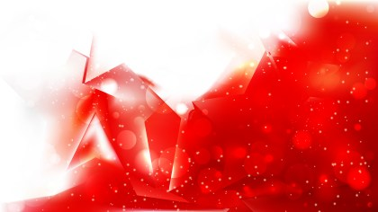 Red and White Abstract Background Vector
