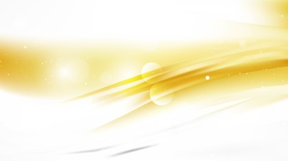 White and Gold Abstract Background Image