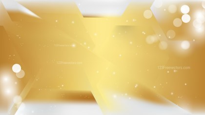 White and Gold Abstract Background Graphic