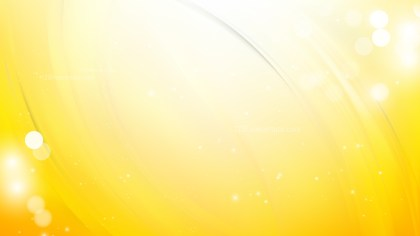 Abstract Yellow and White Background