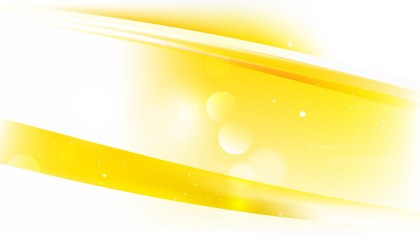 Abstract Yellow and White Background Vector