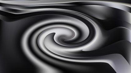 Black and Grey Swirl Background Texture