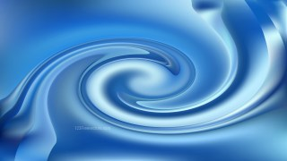 Blue Twirling Vortex Background