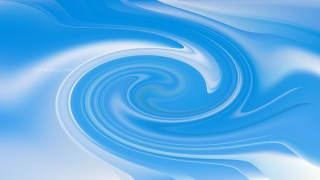 Blue and White Swirling Background Image