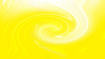 Abstract Bright Yellow Swirling Background Texture