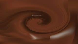 Coffee Brown Whirl Background