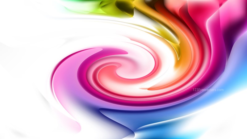 Colorful Whirlpool Background Image