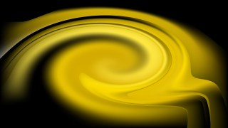 Cool Yellow Twirl Background