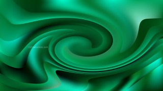 Abstract Dark Green Swirl Background Image