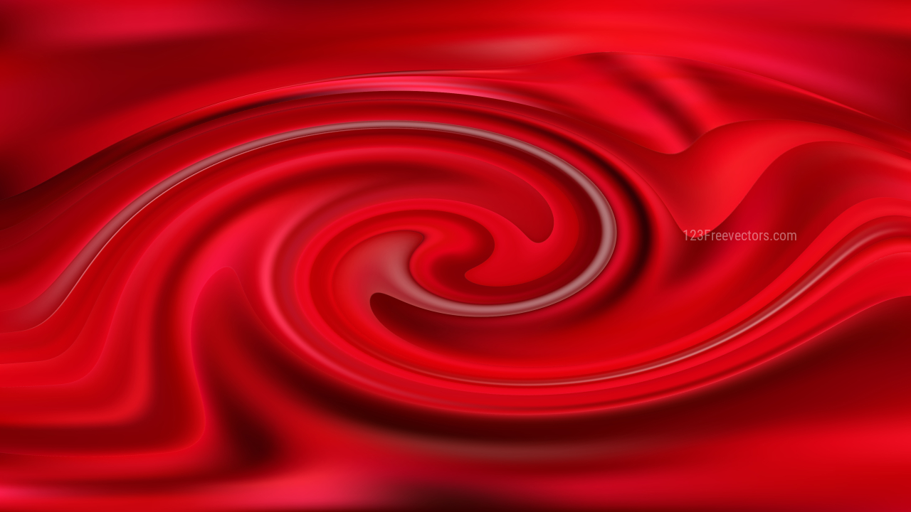 Dark Red Swirling Background