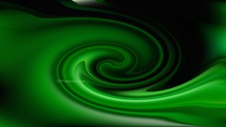 Abstract Cool Green Swirl Background Image