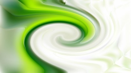 Green and White Whirlpool Background Texture