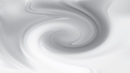 Grey and White Twirl Background Image