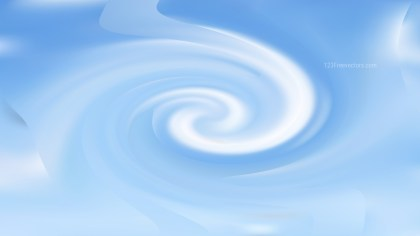 Abstract Light Blue Twirling Background