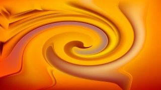 Abstract Orange Spiral Background
