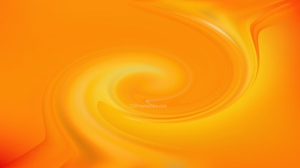 Abstract Orange Spiral Background Image
