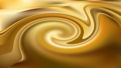 Abstract Orange Twirling Vortex Background Image