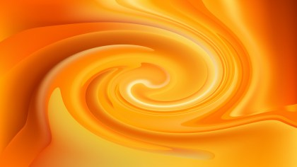 Abstract Orange Twister Background Image