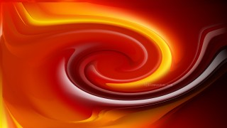 Orange and Black Twirl Background