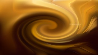 Abstract Orange and Black Twirl Background Image